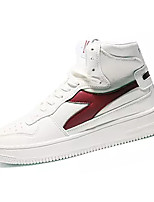 Недорогие -Муж. Комфортная обувь Полиуретан Осень На каждый день Кеды Доказательство износа Белый / Черный / Синий