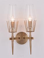 Недорогие -Новый дизайн Модерн / Традиционный / классический Настенные светильники Гостиная / Спальня Металл настенный светильник 110-120Вольт / 220-240Вольт 60 W