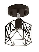 baratos -Montagem do Fluxo Luz Ambiente Acabamentos Pintados Metal Ajustável 110-120V / 220-240V Lâmpada Não Incluída / E26 / E27