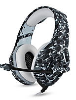 abordables -Factory OEM Bandeau Câble Ecouteurs Ecouteur Carcasse de plastique / ABS + PC Jeux Écouteur Design nouveau / Stereo Casque
