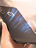 baratos -Capinha Para Apple iPhone XR / iPhone XS Max Ultra-Fina Capa traseira Sólido Rígida PC para iPhone XS / iPhone XR / iPhone XS Max