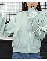 cheap -women's going out jacket - solid colored