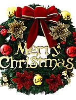 economico -Ghirlande / Ornamenti di Natale Vacanza PVC Circolare Feste / Originale Decorazione natalizia
