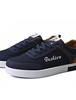 Недорогие -Муж. Комфортная обувь Сетка Осень Кеды Темно-синий / Серый / Черный / Красный