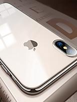 Недорогие -Кейс для Назначение Apple iPhone 8 / iPhone XS Max Покрытие / Ультратонкий / Полупрозрачный Кейс на заднюю панель Однотонный Мягкий ТПУ для iPhone XS / iPhone XR / iPhone XS Max