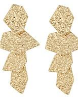 Недорогие -Жен. Классический Серьги - Золотой / Черный / Серебряный Назначение Официальные