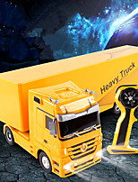 cheap -RC Car 1101 6CH 2.4G Truck / Construction Truck 1:32 2 km/h KM/H Remote Control / RC / Sound / Remote-Controlled