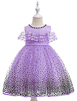 cheap -Kids Girls' Polka Dot Sleeveless Dress