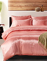cheap -Duvet Cover Sets Solid Colored Polyster Reactive Print 3 Piece