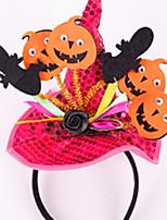 Недорогие -Праздничные украшения Украшения для Хэллоуина Halloween / Хэллоуин Развлекательный Творчество / Cool Оранжевый / Лиловый / Красный 1шт