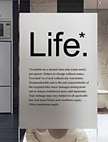 Недорогие -Оконная пленка и наклейки Украшение Обычные другое ПВХ Новый дизайн / Cool