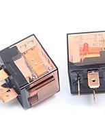 Недорогие -ziqiao 2шт 80a / 12v 4-контактный автомобильный автоматический переключатель реле spdt для автомобиля