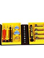 Недорогие -Хромированная ванадиевая сталь Ремонт телефонов 38 в 1 Наборы инструментов