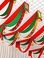 abordables -Décorations de Noël Vacances Tissu Rectangulaire Nouveautés Décoration de Noël