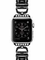 Недорогие -Ремешок для часов для Apple Watch Series 4/3/2/1 Apple Классическая застежка Нержавеющая сталь Повязка на запястье