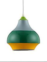 baratos -Circular Luzes Pingente Luz Ambiente Acabamentos Pintados Alumínio Alumínio Novo Design 110-120V / 220-240V Branco Quente Lâmpada Não Incluída / E26 / E27