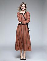 cheap -Women's Basic / Elegant Petal Sleeves Sheath Dress Lace
