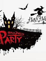 Недорогие -Праздничные украшения Украшения для Хэллоуина Хэллоуин Развлекательный Декоративная / Cool Черный 1шт