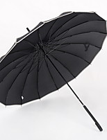 cheap -Stainless steel All Sunny and Rainy Straight Umbrella
