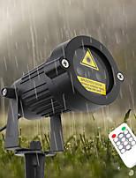 Недорогие -YWXLIGHT® 1шт 6 W Свет газонные Водонепроницаемый / Дистанционно управляемый / Свет проектора RGB 100-240 V Уличное освещение / двор / Сад 2 Светодиодные бусины
