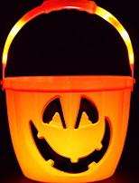 Недорогие -Праздничные украшения Украшения для Хэллоуина Halloween Держать в руке Оранжевый 1шт