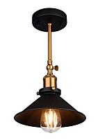 baratos -Montagem do Fluxo Luz Descendente Acabamentos Pintados Metal Ajustável 110-120V / 220-240V Lâmpada Não Incluída / E26 / E27
