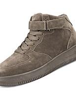 Недорогие -Муж. Комфортная обувь Полиуретан Осень Кеды Черный / Коричневый / Красный