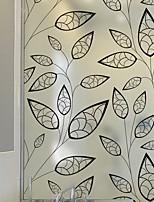 baratos -Filme de Janelas e Adesivos Decoração Comum Floral PVC Novo Design / Legal