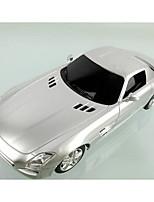Недорогие -Машинка на радиоуправлении Rastar 40100 10.2 CM 27MHz Автомобиль 1:24 8 km/h КМ / Ч Подсветка / На пульте управления