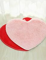 Недорогие -Коврики Modern Полиэстер, Heart Shape Высшее качество плед