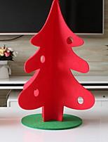 Недорогие -Новогодние ёлки Новогодняя ёлка Нетканый материал Рождественская елка Оригинальные Рождественские украшения