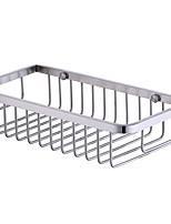 baratos -Prateleira de Banheiro Novo Design Moderna Aço Inoxidável 1pç Montagem de Parede