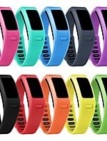 Недорогие -Ремешок для часов для Vivofit 2 Garmin Спортивный ремешок силиконовый Повязка на запястье