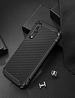 Недорогие -Кейс для Назначение Huawei P20 Защита от удара / Покрытие / Сияние и блеск Кейс на заднюю панель Сияние и блеск Твердый ТПУ / ПК для Huawei P20
