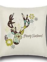 Недорогие -Наволочки Праздник Ткань Прямоугольный Для вечеринок / Оригинальные Рождественские украшения