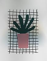 baratos -Filme de Janelas e Adesivos Decoração Comum Floral PVC Novo Design / Adorável / Legal