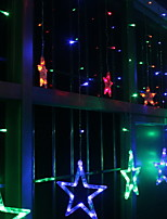 Недорогие -2м Гирлянды 138 светодиоды Разные цвета Декоративная / обожаемый 220-240 V 1 комплект