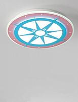 Недорогие -Круглый Монтаж заподлицо Рассеянное освещение 220-240Вольт, Теплый белый + белый, Светодиодный источник света в комплекте