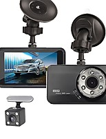 cheap -T638+ 720p / 1080p New Design / Cool / Dual Lens Car DVR 170 Degree Wide Angle ≤3 inch LTPS Dash Cam with Night Vision / G-Sensor / Parking Monitoring No Car Recorder