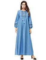 preiswerte -Damen Etuikleid Kleid Maxi