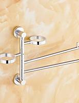 billiga -Handduksstång Ny Design / Häftig Nutida Aluminum 1st Väggmonterad