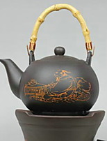 Недорогие -Керамика Heatproof нерегулярный 1шт чайник