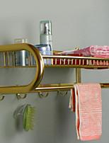 Недорогие -Полка для ванной Новый дизайн / Cool Modern Алюминий 1шт На стену