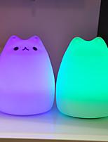 Недорогие -1шт Catus LED Night Light Цветной USB обожаемый 5 V