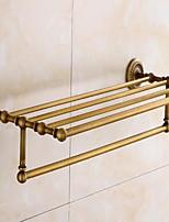 Недорогие -Полка для ванной Новый дизайн / Cool Modern Латунь 1шт На стену