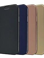 Недорогие -Кейс для Назначение Apple iPhone XR / iPhone XS Max Бумажник для карт / со стендом Чехол Однотонный Твердый Кожа PU для iPhone XS / iPhone XR / iPhone XS Max