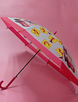 Недорогие -пластик / Нержавеющая сталь Мальчики / Девочки Солнечный и дождливой Зонт-трость