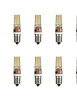 baratos -10pçs 3 W 300 lm E14 Luminárias de LED  Duplo-Pin T 28 Contas LED SMD 2835 Branco Quente / Branco 85-265 V