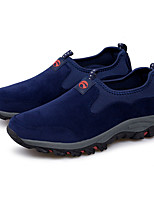 Недорогие -Муж. Комфортная обувь Синтетика Осень Спортивные / На каждый день Мокасины и Свитер Нескользкий Черный / Темно-синий / Военно-зеленный