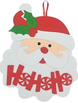 baratos -Enfeites de Natal Natal Não-Tecelado Quadrada Novidades Decoração de Natal